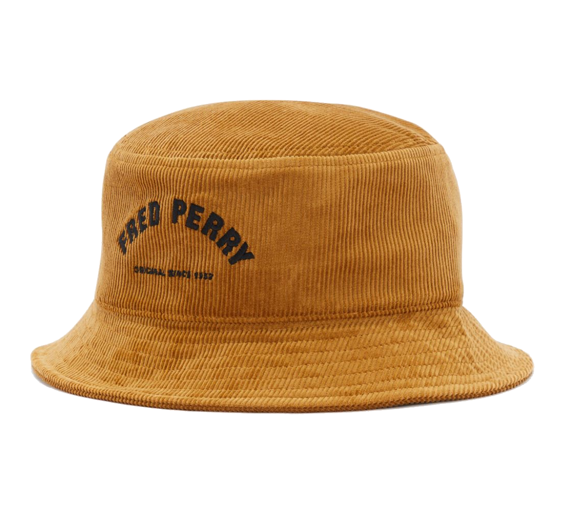 ARCH BRANDED CORD BUCKET HAT