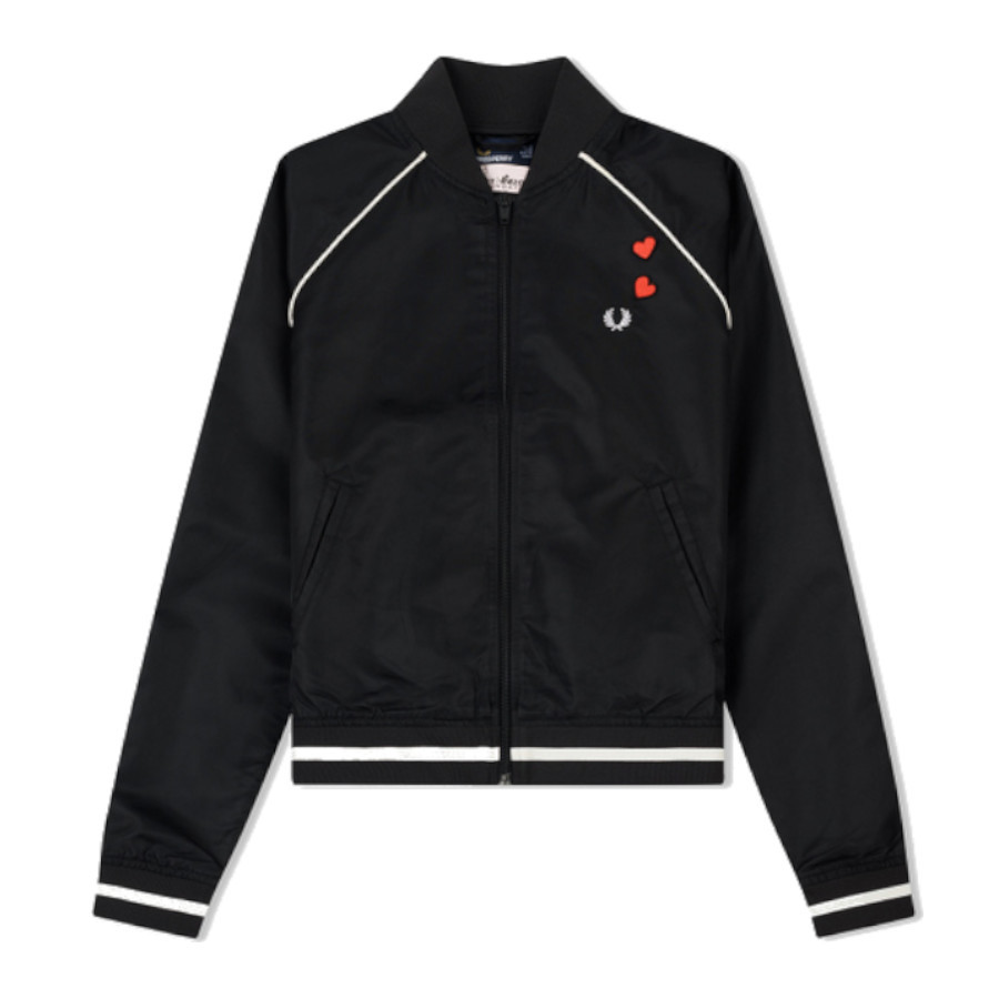 EMBROIDERED 50?S BOMBER