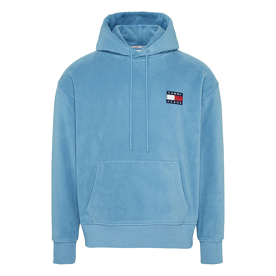 POLAR FLEECE BADGE HOODIE