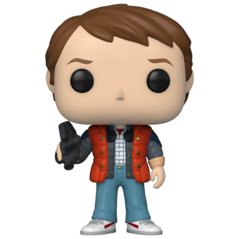 Back to the Future POP! Vinyl Figur Marty in Puffy Vest