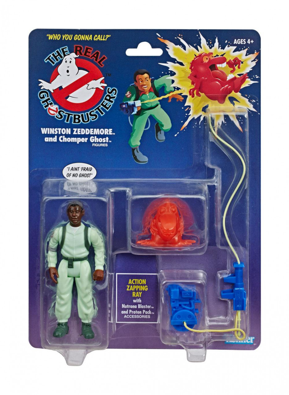 THE REAL GHOSTBUSTERS WINSTON