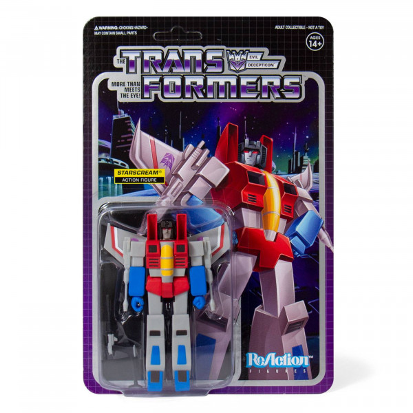 Transformers ReAction Starscream