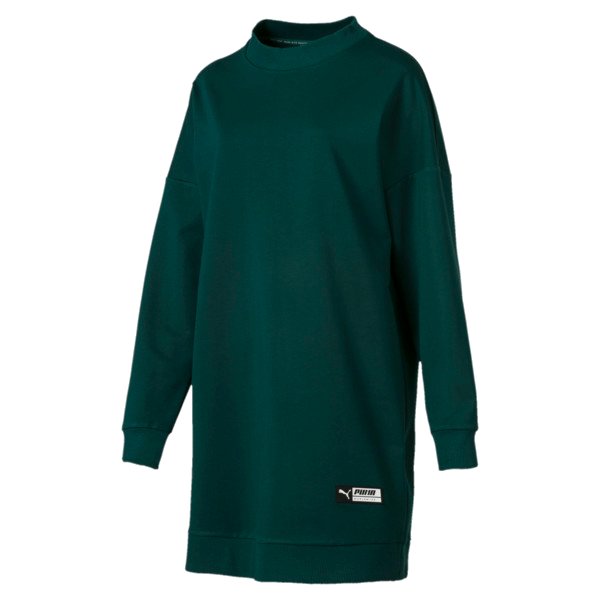 TZ LONG CREWNECK DRESS